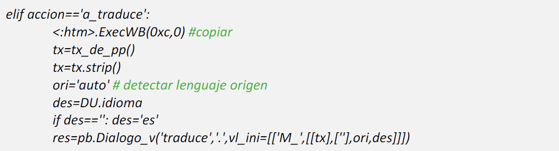 gsBase Multi-Lengua ejemplo 6
