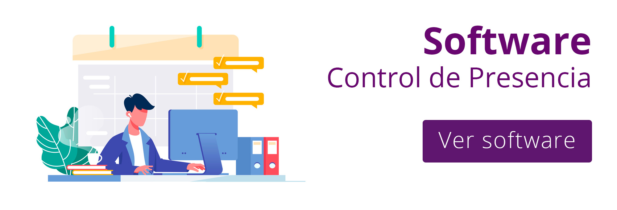 software control de presencia