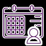 Software Teletrabajo - Icono Agenda Proyectos
