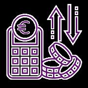 Icono gastos y beneficios
