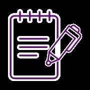 APP Gestión de Repartos - Icono anotar observaciones