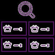 APP eCommerce - Icono búsqueda avanzada