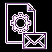 Icono Correo Electronico Centralizado