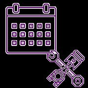 Software Flota de Vehículos - Icono planes mantenimiento
