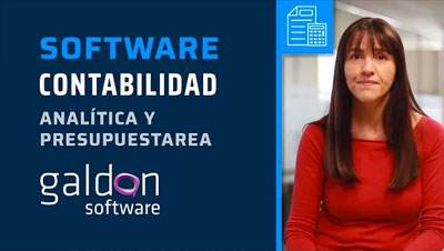 Video - Software Contabilidad Analítica y Presupuestaria